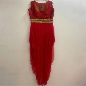 Red Salwar